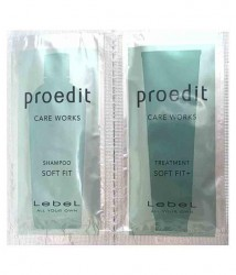 Пробники Шампуня и Кондиционера Lebel Proedit Soft Fit+