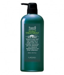 Кондиционер Lebel Theo Ice Mint Scalp Treatment 600g