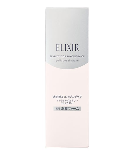 Очищающая пенка Shiseido Elixir White Cleansing Foam 2
