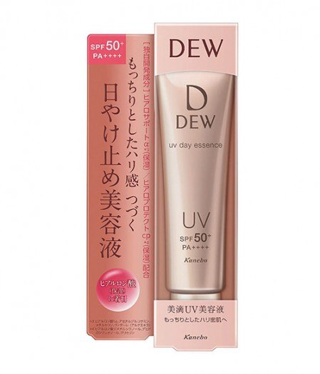 Санскрин для кожи лица Kanebo Dew UV Day Essence SPF 50+ PA++++ 3