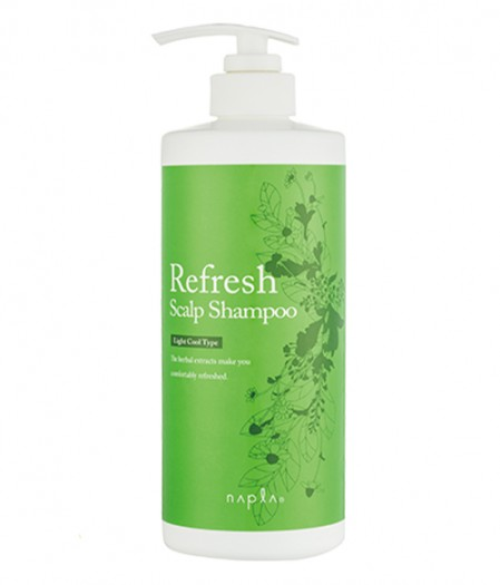 Освежающий шампунь Napla Refresh Scalp Light Cool Type Shampoo 2